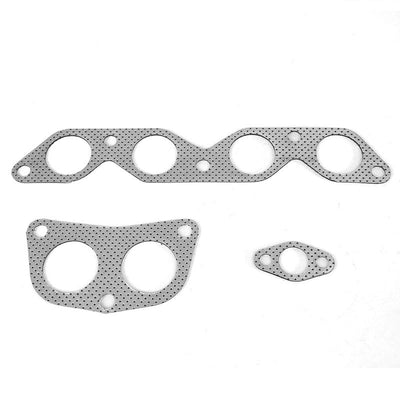 BFC Aluminum Graphite Exhaust Gasket For 93-97 Toyota Corolla 1.6L/1.8L DOHC-Exhaust Systems-BuildFastCar-BFC-12-1125