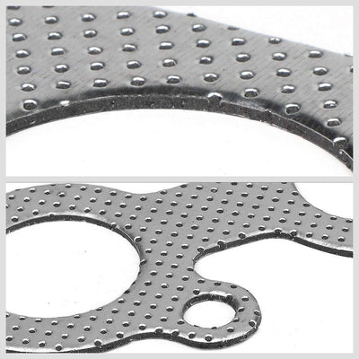 BFC Aluminum Graphite Exhaust Gasket Replacement For 95-04 Toyota Tacoma 3.4L V6-Exhaust Systems-BuildFastCar-BFC-12-1126