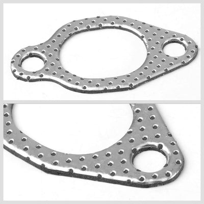 BFC Aluminum Graphite Exhaust Gasket Replacement For 80-99 Volkswagen Jetta-Exhaust Systems-BuildFastCar-BFC-12-1129
