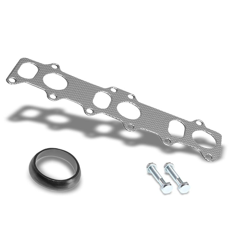 BFC Aluminum Graphite Exhaust Gasket Replacement For 99-04 Volkswagen Jetta-Exhaust Systems-BuildFastCar-BFC-12-1130