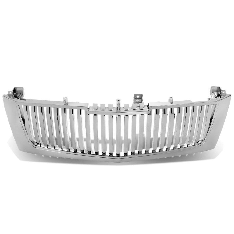 Chrome Vertical Style Replacement Front Grille For 02-06 Escalade/EXT/ESV Base-Exterior-BuildFastCar