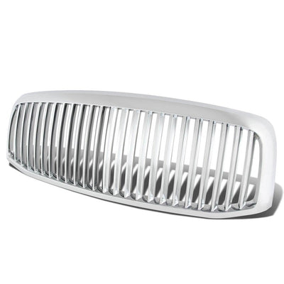 Chrome Vertical Style Replacement Front Grille For 06-08 Ram 1500/2500 V6/V8-Exterior-BuildFastCar