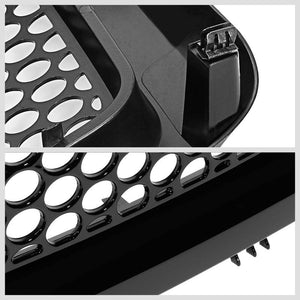 Black Circle Mesh Style Replacement Grille For 07-13 Sierra 1500 GMT900 V6/V8-Exterior-BuildFastCar