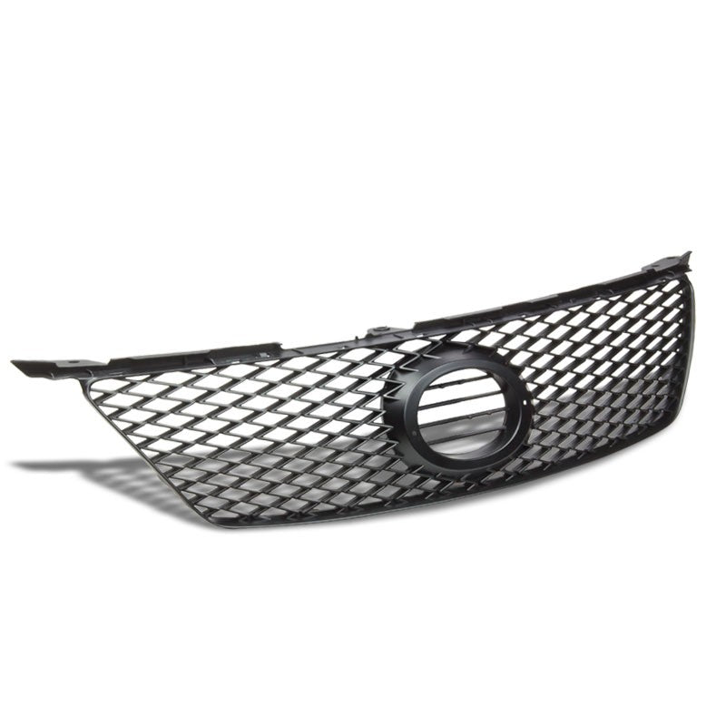 Black Diamond Mesh Style Replacement Front Grille For 06-08 IS250 XE20 2.5L V6-Exterior-BuildFastCar