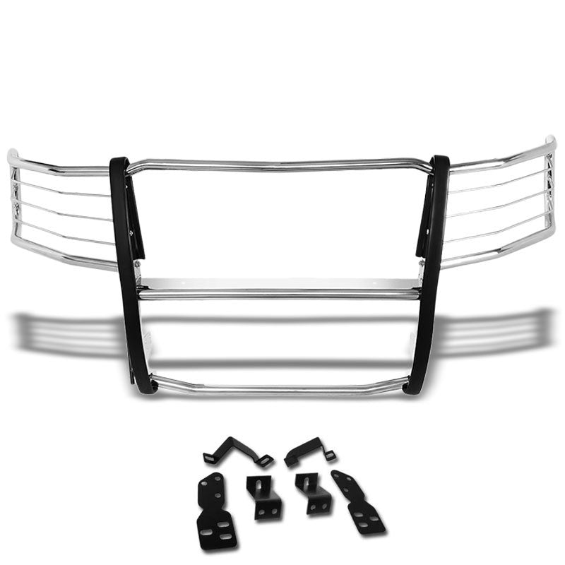 Metallic Mild Steel Full Front Grille Guard For 07-13 Chevrolet Silverado 1500
