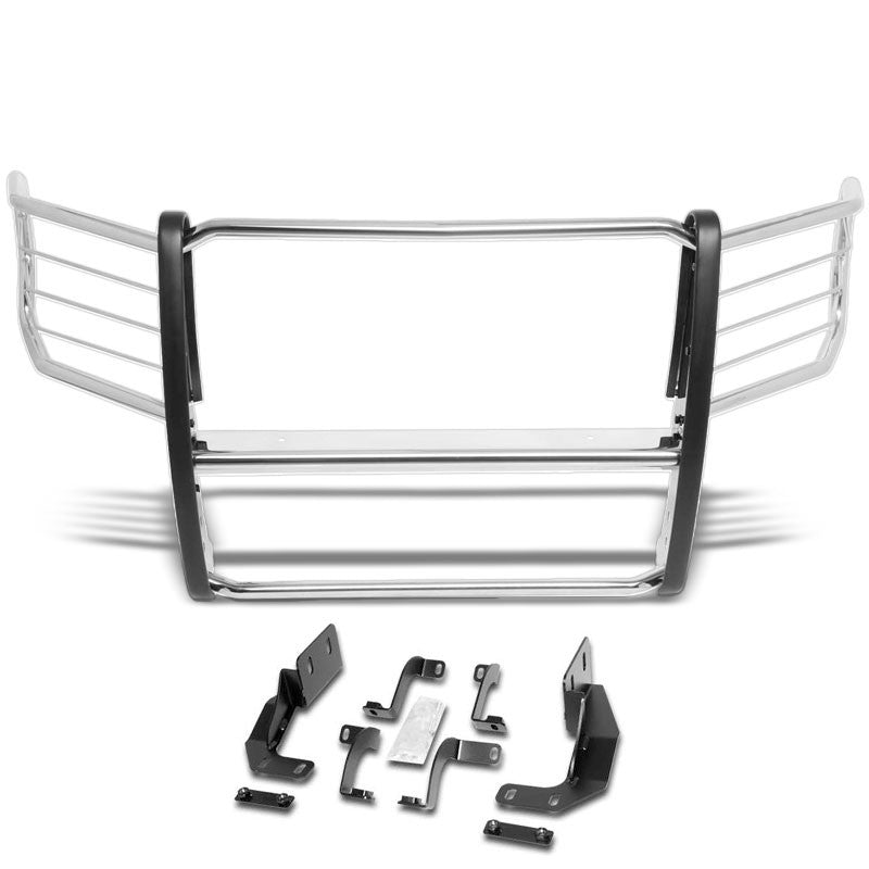 Metallic Mild Steel Full Front Grille Guard For 15-19 Ford F-150 2.7L/3.0L/5.0L