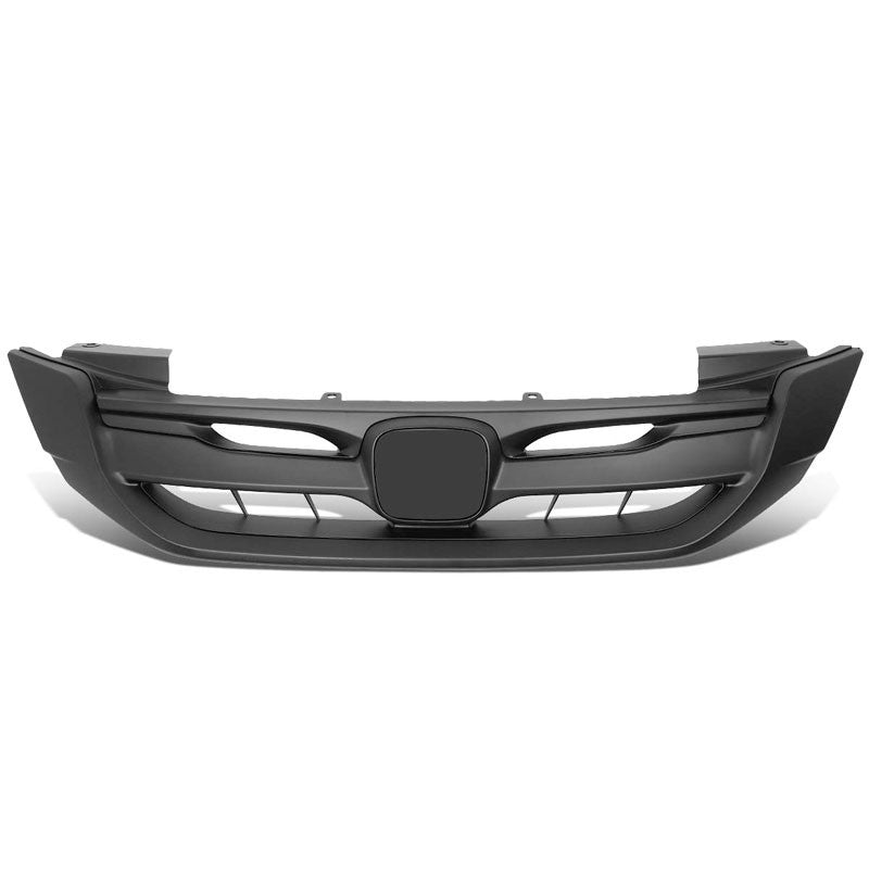 Vertical Fence Matte Black Front Upper Grille For 13-15 Honda Accord Sedan 4DR-Grilles-BuildFastCar-BFC-FGR-1-HON13ACC-T2-BK