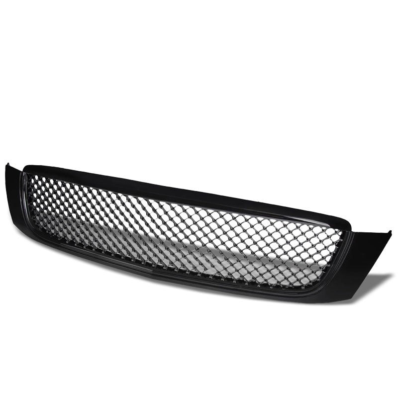 Black Diamond Mesh Style Front Grill Grille For Cadillac 00-05 DeVille 4.6L-Exterior-BuildFastCar