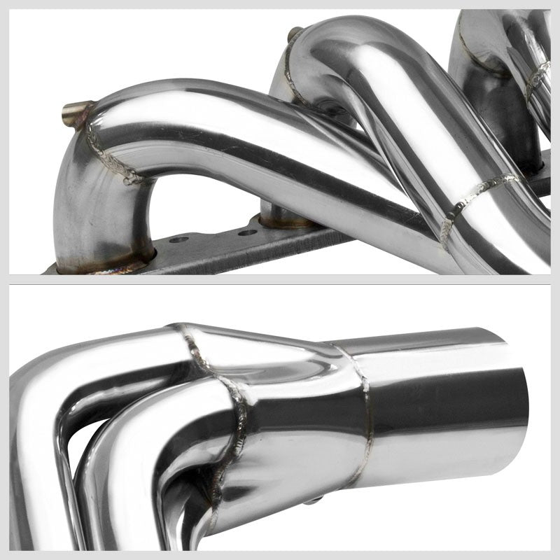 Stainless Steel Exhaust Header Manifold For Big Block 496 BBC V-Drive Jet Boat-Performance-BuildFastCar