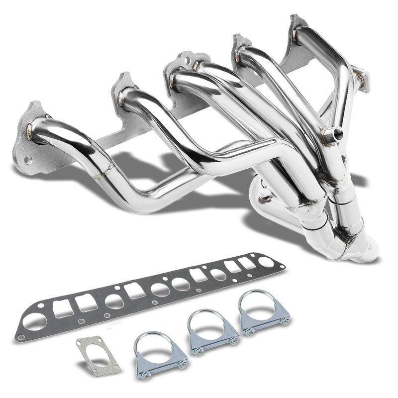 Stainless Steel Exhaust Header Manifold For Jeep 87-93 Cherokee/87-90 Wagoneer-Performance-BuildFastCar