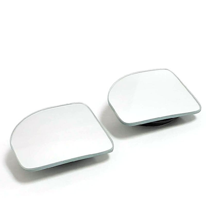 2x Triangle Adjust Universal Car Turck SUV Van Wide View Side Blind Spot Mirror-Exterior-BuildFastCar