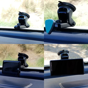 TYA C02 Dashboard Magnet Car Mount Holder For Mobile Cell+RDBKB Blind Mirror-Accessories-BuildFastCar