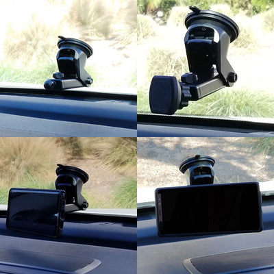 TYA C03 Dashboard Magnet Car Mount Stand For Mobile Phone+SQ73 Blind Spot Mirror-Accessories-BuildFastCar