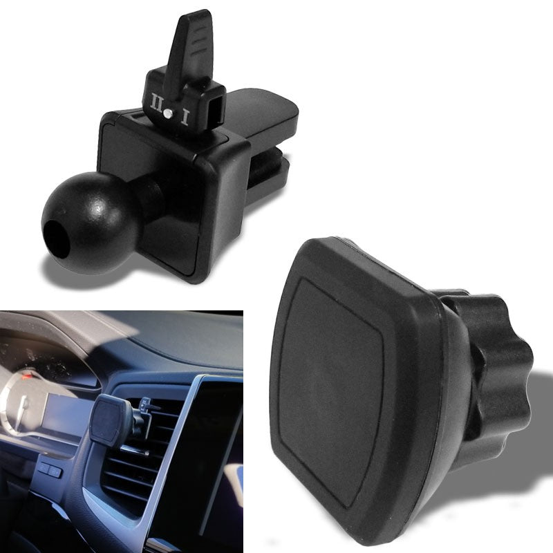 Magnetic Clip Air Vent TYA F3 Car Mount Holder Cradle For Smartphone Cell Phone-Accessories-BuildFastCar