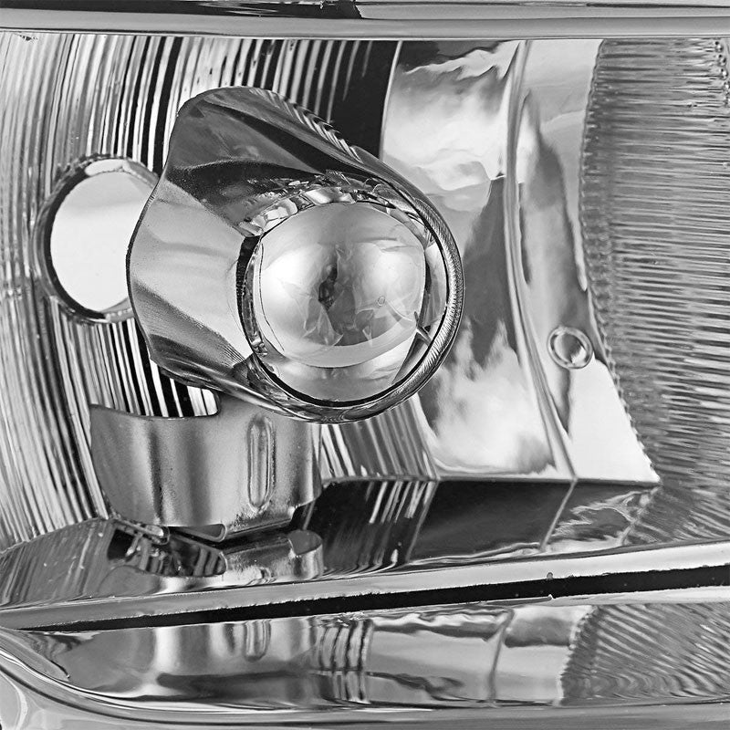 Chrome Housing Clear Lens Projector Headlight/Lamp For 96-99 Chryler Voyager 4DR-Lighting-BuildFastCar-BFC-FHDL-CHRYVOY015-CHCL1