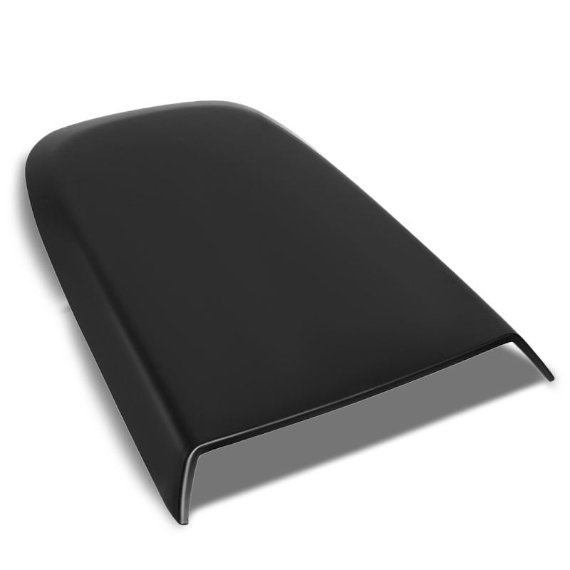 Black Air Dynamics Scoop Bonnet Hood Cover For 05-09 Ford Mustang S-197 V6/V8-Exterior-BuildFastCar