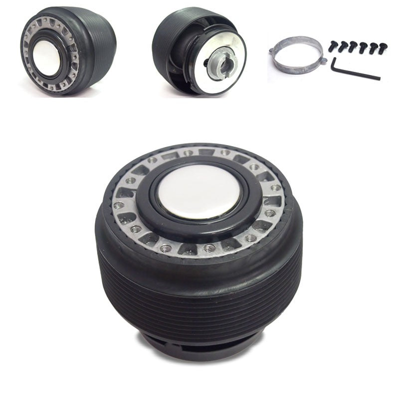 6-Hole Racing Steering Wheel Hub Adapter For Integra DC2/Civic EG EH EJ/DelSol-Interior-BuildFastCar