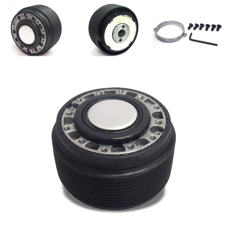 6-Hole Racing Steering Wheel Hub Adapter For 626/RX7/RX8/Miata/Accent/Genesis-Interior-BuildFastCar