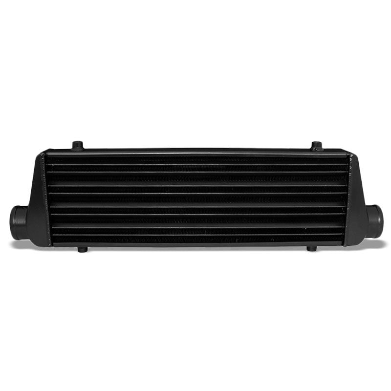 Universal Black Aluminum Tube & Fin 27.675L Turbo Front Mount Style Intercooler-Performance-BuildFastCar