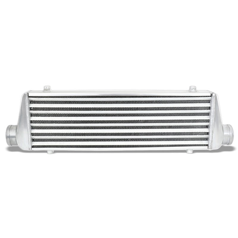 Universal Silver Aluminum Tube & Fin 27.675L Turbo Front Mount Style Intercooler-Performance-BuildFastCar