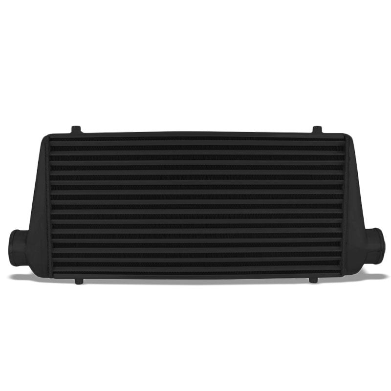 "Universal Black Aluminum Tube & Fin 30.75""L Turbo Front Mount Style Intercooler-Performance-BuildFastCar"