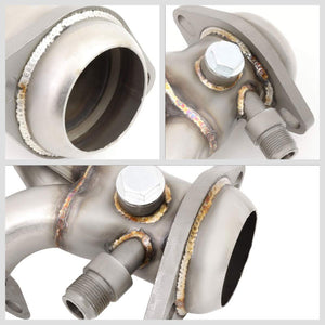 J1 Bare Exhaust Shorty Header Manifold For 97-03 Ford F-150/04 F-150 Heritage