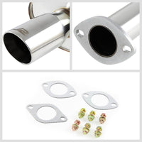 "3"" Slant Roll Muffler Tip Exhaust Catback System For 99-03 Solara XV20 2.4L/3.0L-Performance-BuildFastCar"