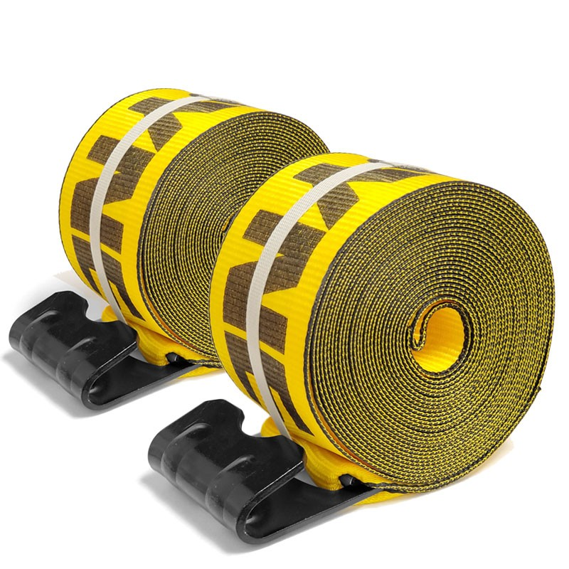 "2x Kinedyne 423021 4""x30' Winch Strap 1021 Flat Hook 5400lb For Flatbed trailer-Cargo Control-BuildFastCar-BFC-WHSP-423021-X2"