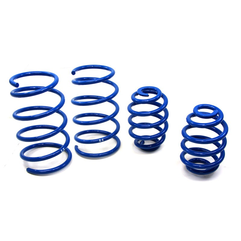 "Blue 2"" Drop Manzo Race Sport Lowering Spring For 92-98 BMW E36 3-Series 2/4DR-Suspension-BuildFastCar"