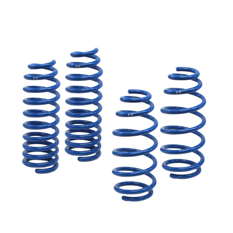 "Blue 2"" Drop Manzo Race Sport Lowering Spring Coil Kit For 03-08 Mazda 6 3.0L V6-Suspension-BuildFastCar"