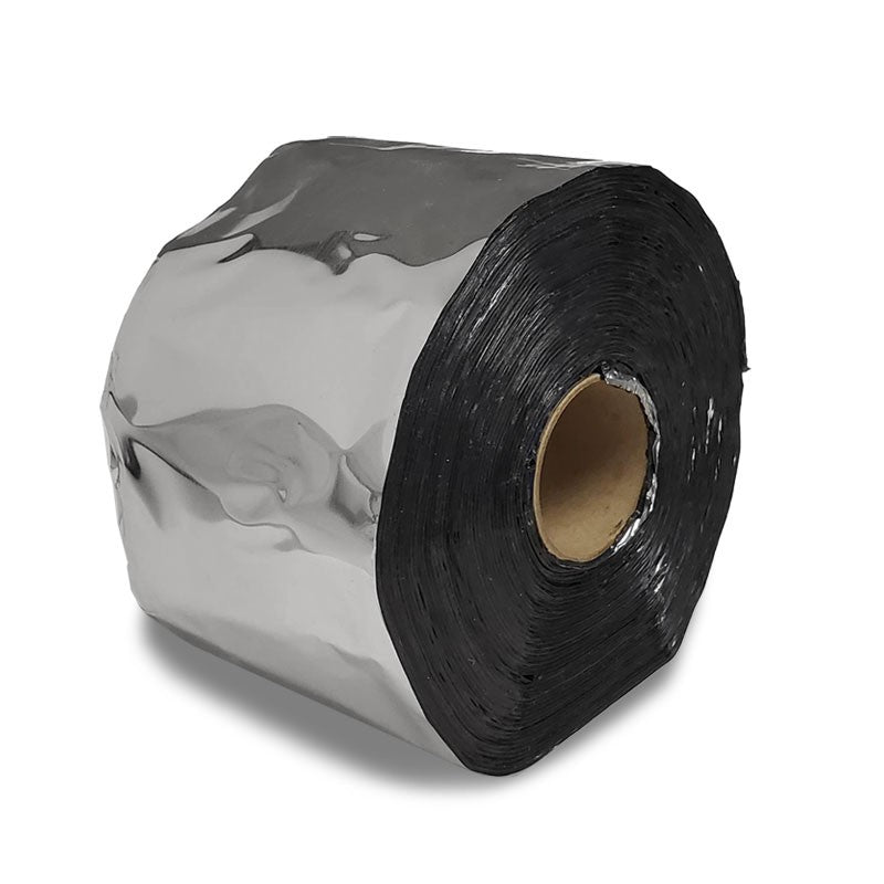 "4""x50' Aluminum Heavy Duty Foil Adhesive Body Repair Tape Trailer Roof RV Truck-Adhesives Sealants & Tapes-BuildFastCar"