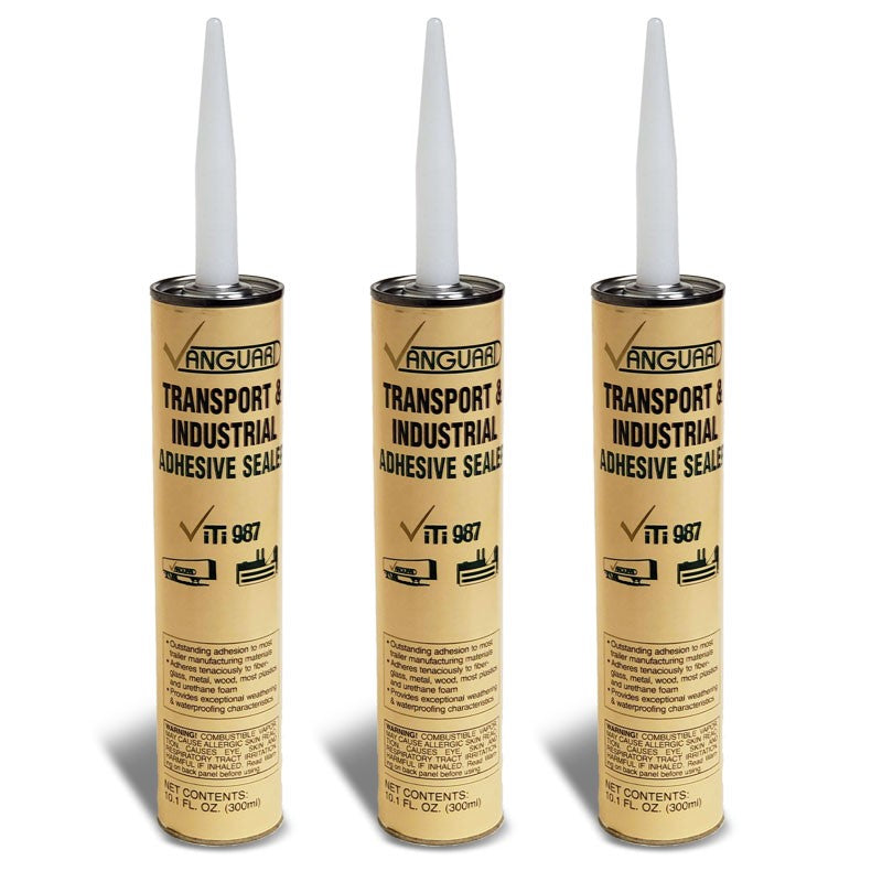 3X Vanguard Transport and Industrial Adhesive Sealer ViTi 987 10.1 FL OZ (300ml)-Adhesives Sealants & Tapes-BuildFastCar-BFC-TTP-SEAL-VNGD-ITI987-X3