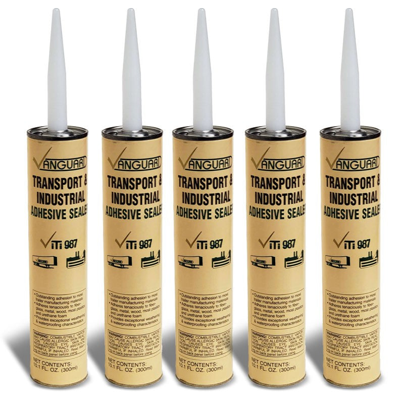 5X Vanguard Transport and Industrial Adhesive Sealer ViTi 987 10.1 FL OZ (300ml)-Adhesives Sealants & Tapes-BuildFastCar-BFC-TTP-SEAL-VNGD-ITI987-X5