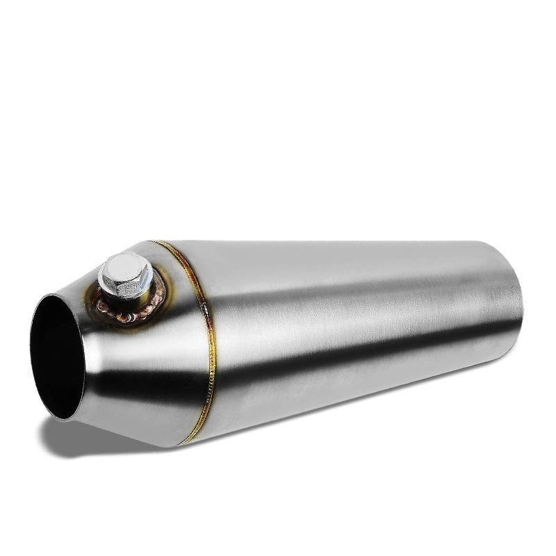 "3.00""-2.50"" 16 Guage SS Weld-On Racing Megaphone For Exhaust Downpipe Header-Performance-BuildFastCar"