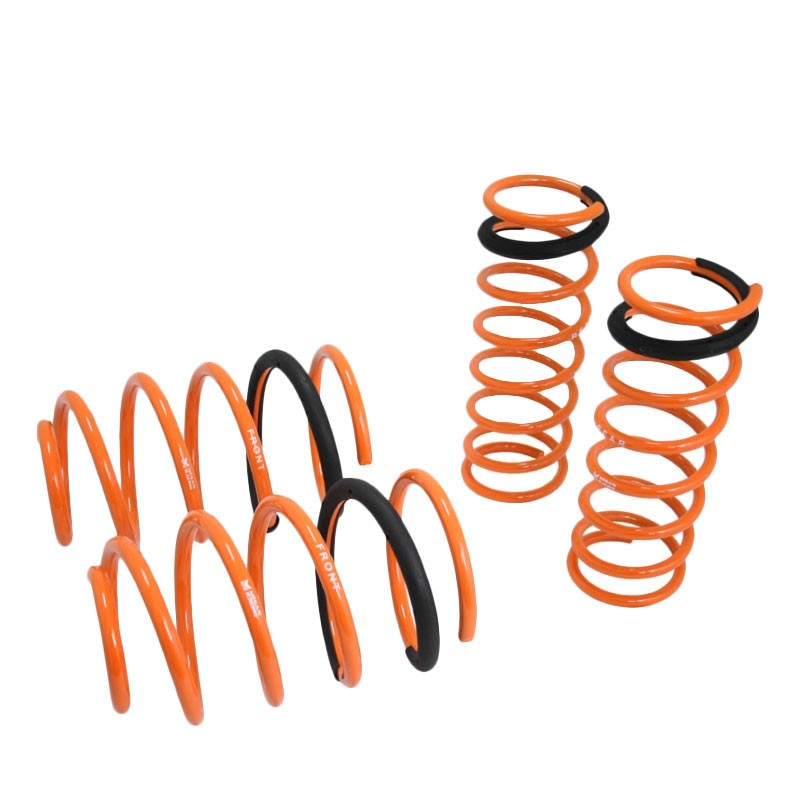 "Orange 1.5"" Drop Megan Racing Sport Lowering Spring Coil For Mazda 04-09 Mazda3-Suspension-BuildFastCar"