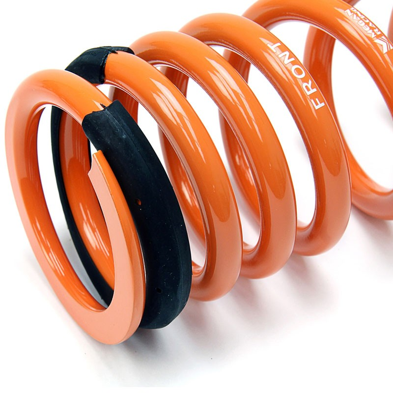 Orange 26mm Drop Megan Racing Lowering Spring Coil Kit For 09-15 Nissan GT-R R35-Suspension-BuildFastCar
