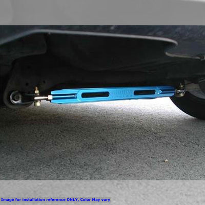 Megan Racing Race Spec Blue Strut Bar (Rear Lower) For 90-01 Integra/88-95 Civic