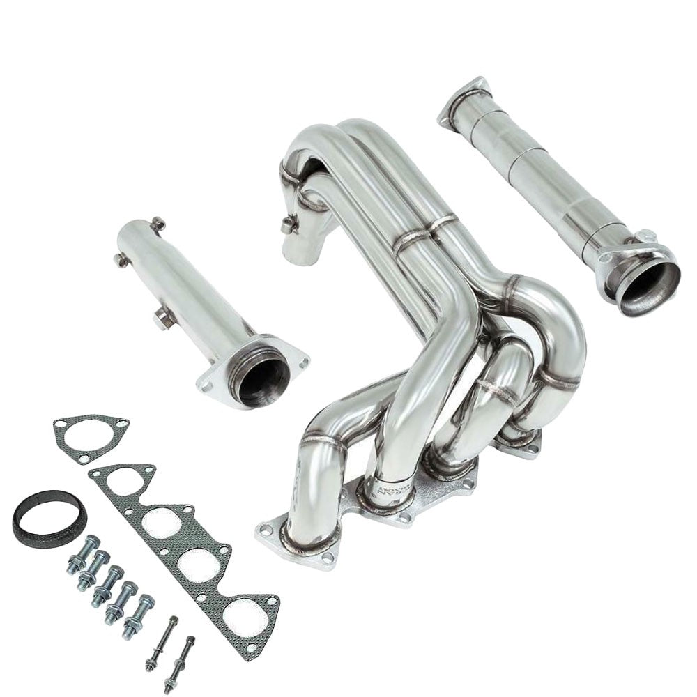 STAINLESS RACING EXHAUST TEST PIPE HIGH FLOW CAT FIT 94-01 ACURA INTEGRA DC2