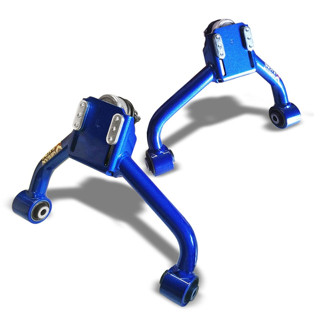 Megan Racing Blue Front Upper Camber Kit For Lexus 98+ GS300/GS400/GS430-Suspension Arms-BuildFastCar