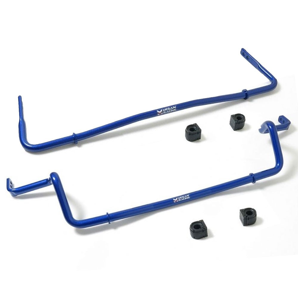 Megan Racing Blue Steel Front+Rear Sway Bar For 13-17 Mazda CX-5 KE AWD/FWD-Suspension Arms-BuildFastCar