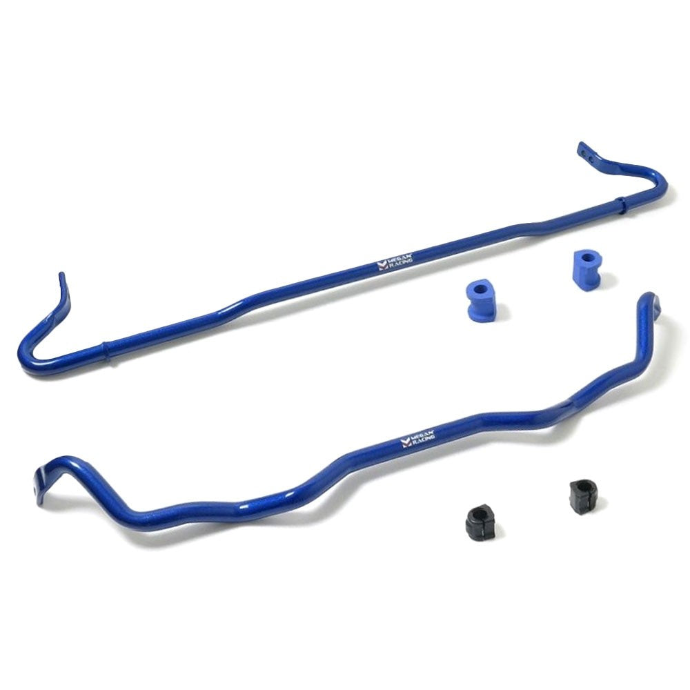 Megan Racing Blue Steel Front+Rear Stabilizer Sway Bar For 15-17 Subaru WRX/STI-Suspension Arms-BuildFastCar