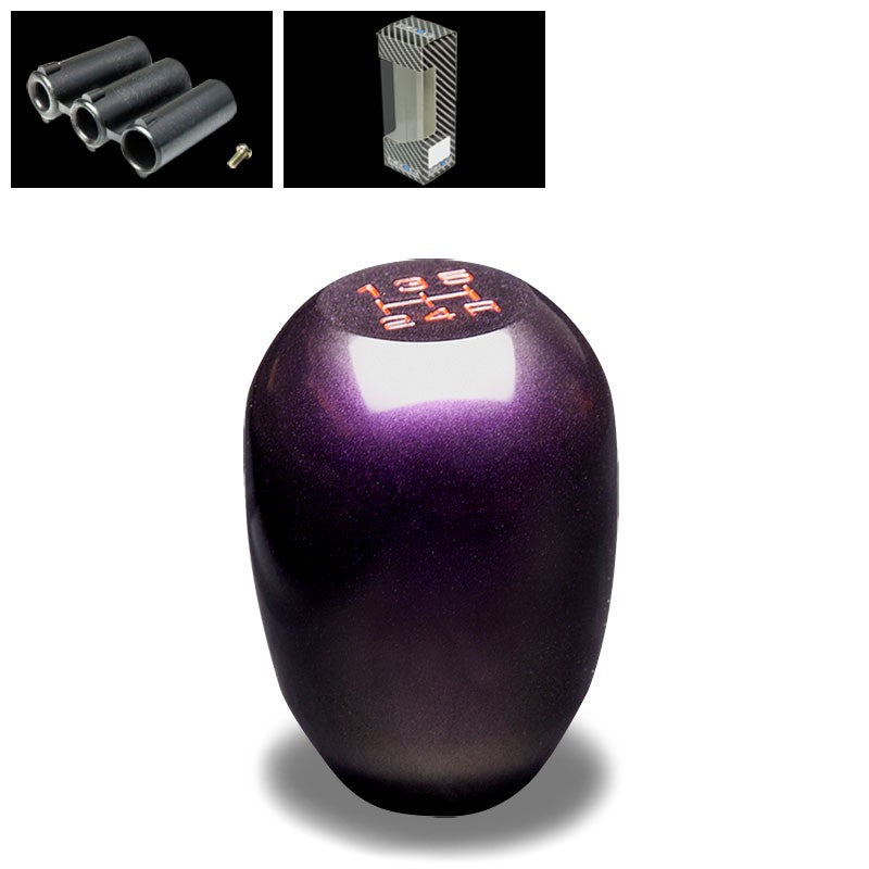 NRG Metallic Purple JDM Heavy Weight M8 M10 M12 SK-100GP-W Racing Shift Knob