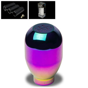 NRG Iridium Purple JDM 6-Speed Manual M8 M10 M12 SK-100MC-1 Racing Shift Knob