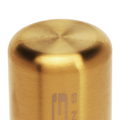 NRG Chrome Gold Long Stick Heavy Weight M8 M10 M12 SK-480GD Racing Shift Knob-Shifter Components-BuildFastCar