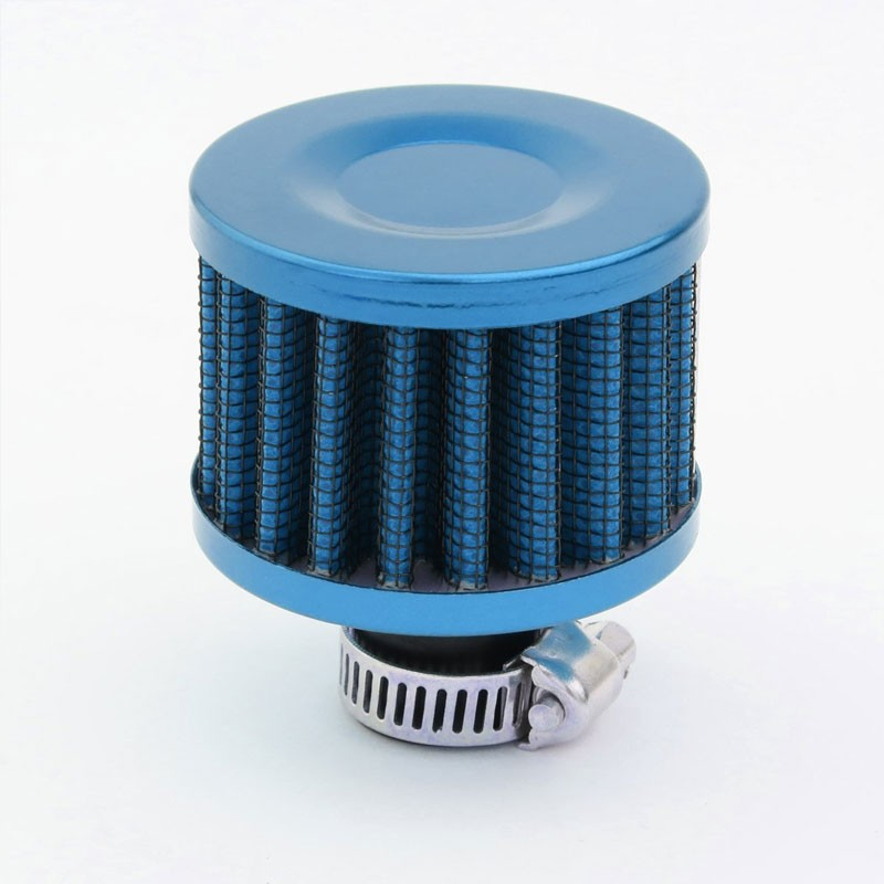 "100ML Universal L.Blue 4.1""L Race Engine Oil Catch Tank Can Reservoir+Air Filter-Performance-BuildFastCar"