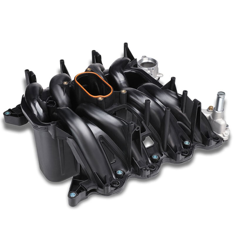 Black OE Intake Manifold works with 03-15 Ford E-Series/00-05 Ford F-Series-Performance-BuildFastCar