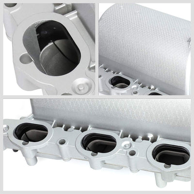 Aluminum Silver OE Intake Manifold For 06-09 Mercedes-Benz 08-12 C300 W204 3.0L-Air Intake Systems-BuildFastCar-BFC-ITKM-MERB08W204-SL
