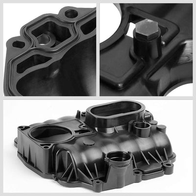 ABS Plastic Black OE Engine Intake Manifold For 96-98 Chevrolet C1500 4.3L V6-Air Intake Systems-BuildFastCar-BFC-ITKM-CHEV96C1500-BK