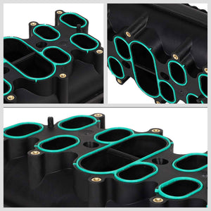 ABS Plastic Black OE Intake Manifold For 00-18 Ford E-350 Super Duty 6.8L V10-Air Intake Systems-BuildFastCar-BFC-ITKM-FOR00E350SD-BK