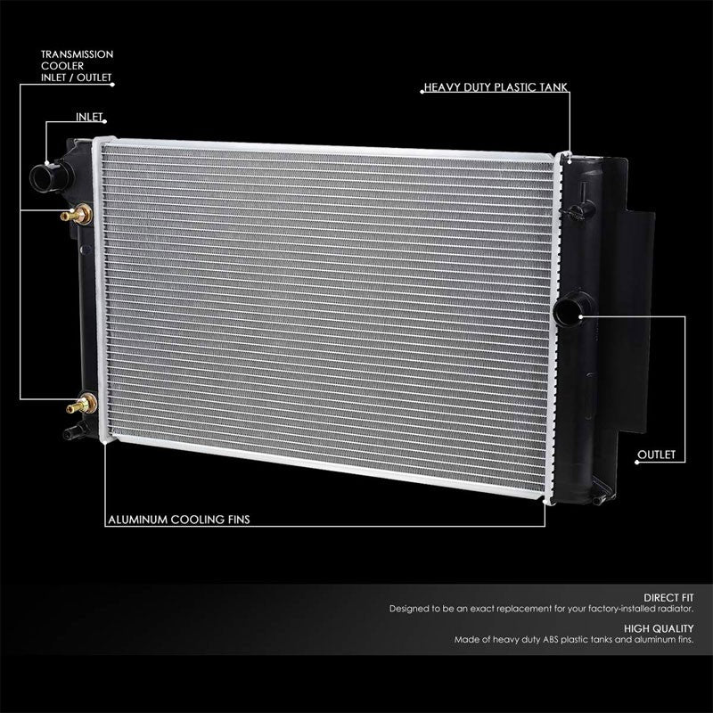 High Flow OE Style Aluminum Core Radiator For 08-15 Scion xB AT-Performance-BuildFastCar